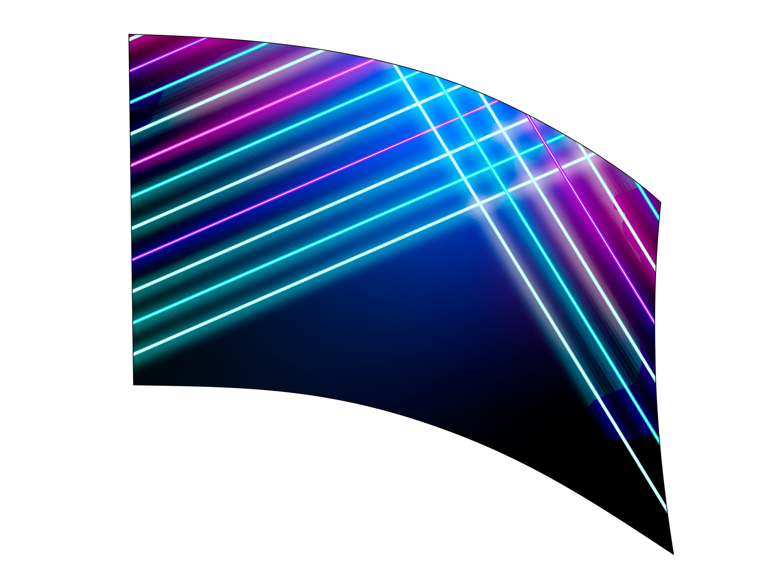 030215s - 36x52 Standard Abstract Laser Lines
