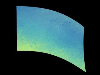 030217s - 36x52 Standard Abstract Blue Green Texture