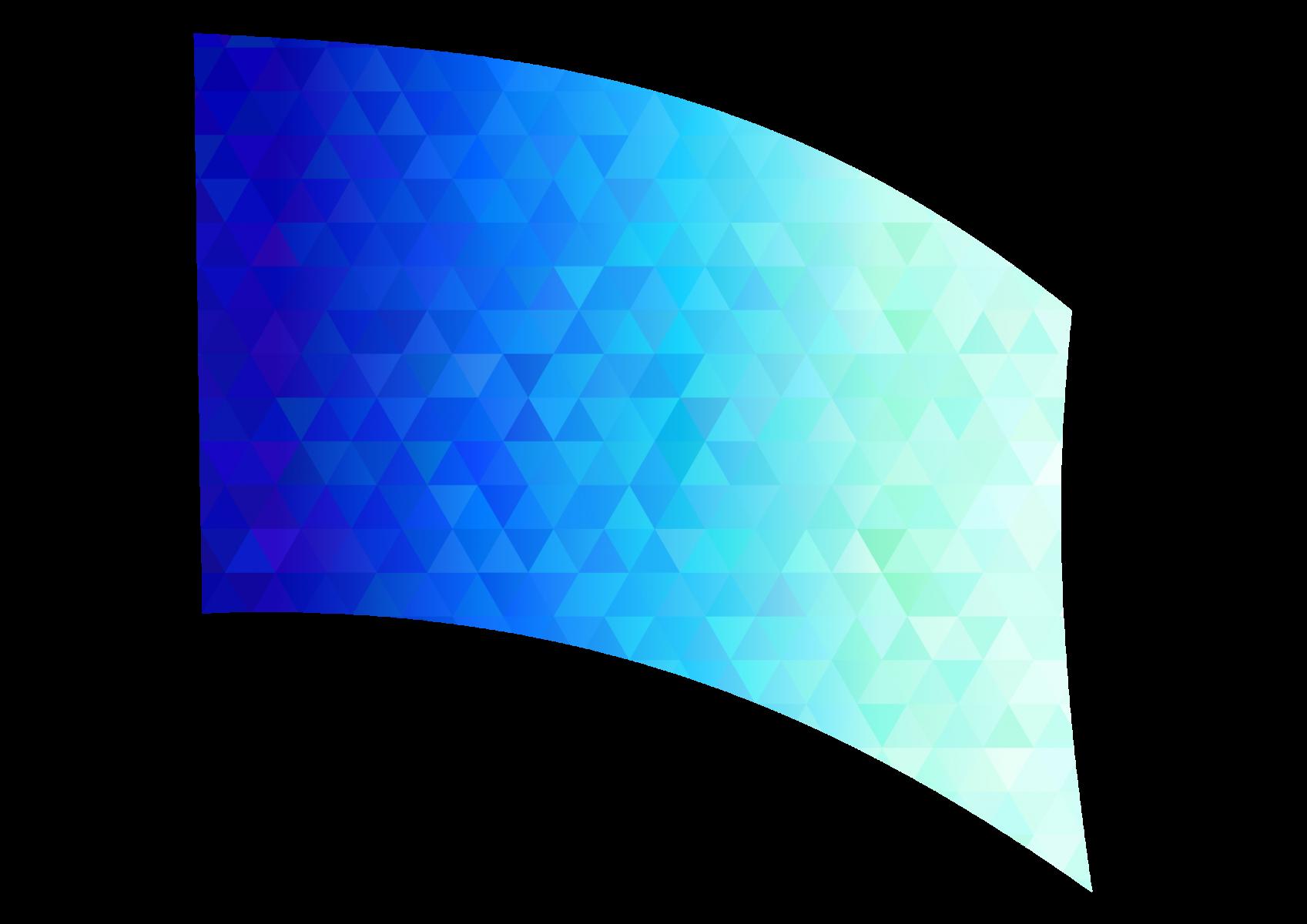010101s - 36x54 Standard Blue-Green Diamond Ombre