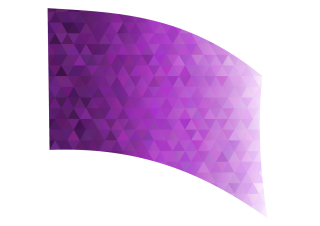 010102s - 36x54 Standard Purple Diamond Ombre
