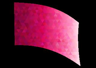 010103s - 36x54 Standard Magenta Diamond Ombre Flag