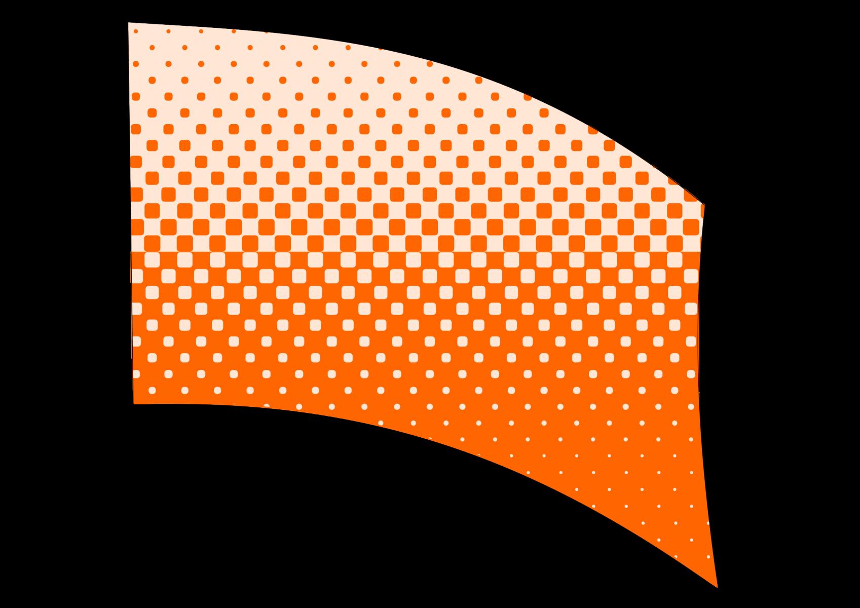 010503s - 36x54 Standard Orange Halftone Blend