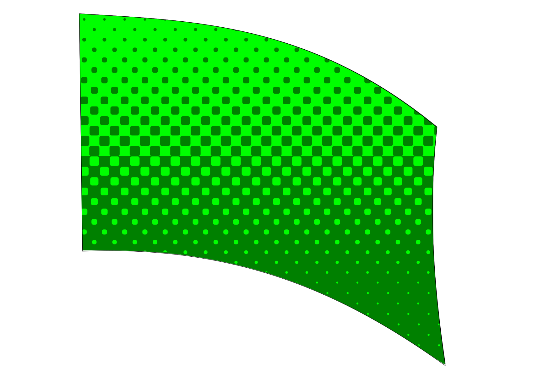 010505s - 36x54 Standard Green Halftone Blend