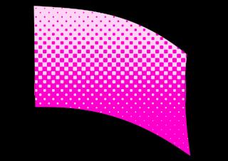 010502s - 36x54 Standard Pink Halftone Blend