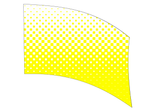 010504s - 36x54 Standard Yellow Halftone Blend