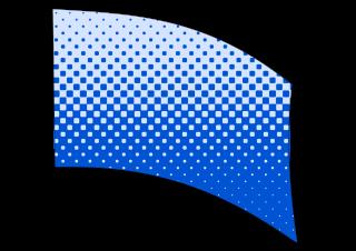 010507s - 36x54 Standard Blue Halftone Blend