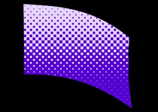 010508s - 36x54 Standard Purple Halftone Blend