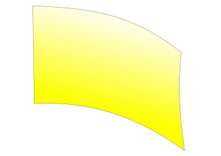 010204s - 36x54 Standard Yellow Ombre