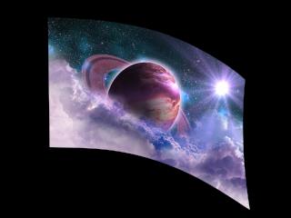050104s - 36x54 Standard Fanciful Saturn