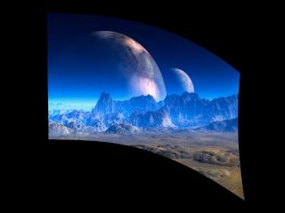 050107s - 36x54 Standard Alien Planet
