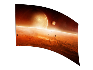 050110s - 36x54 Standard Orange Planets