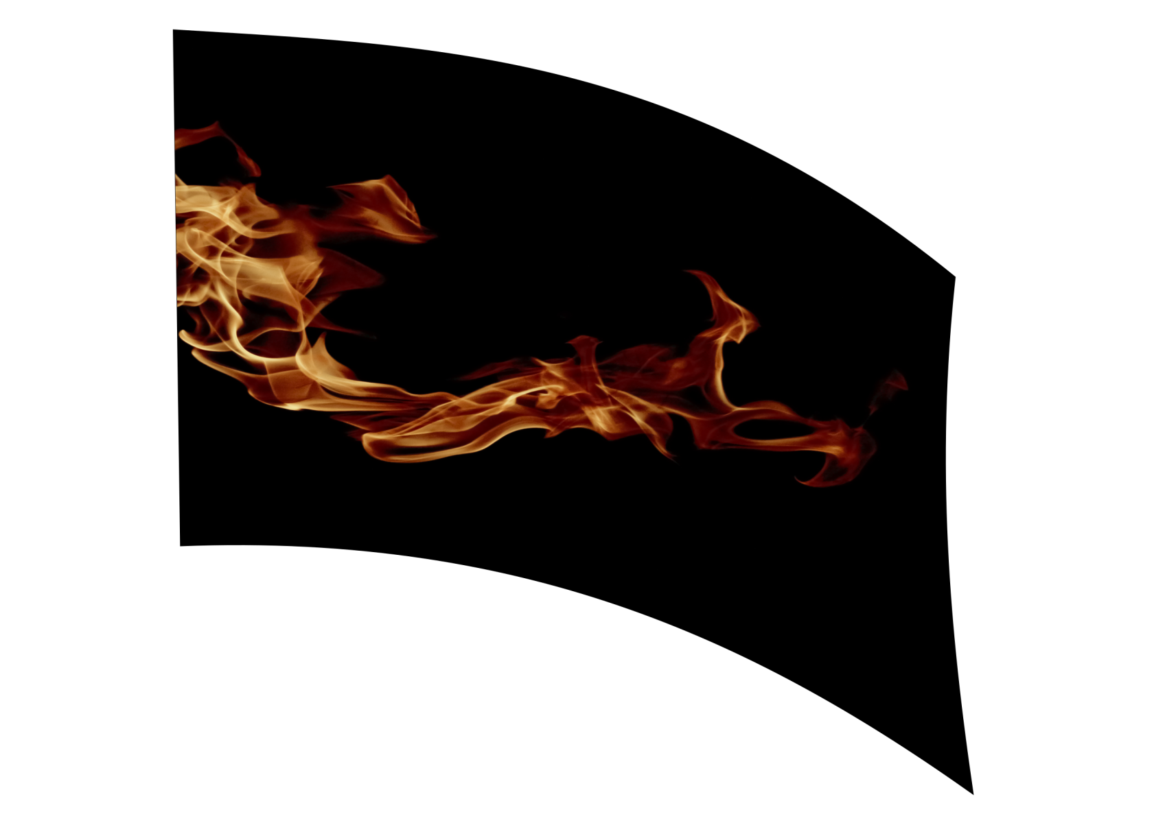 040105s - 36x54 Standard Realistic Flames 1