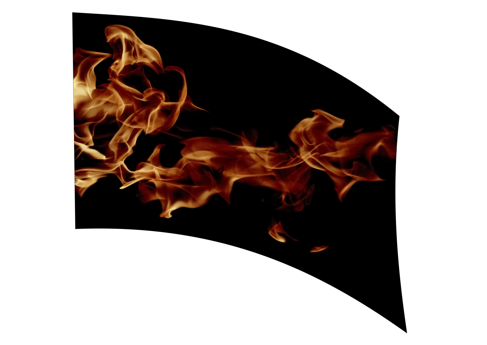 040106s - 36x54 Standard Realistic Flames 2