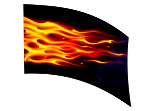 040102s - 36x54 Standard Flames 2