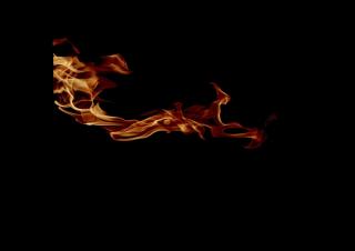040105s - 36x54 Standard Realistic Flames 1