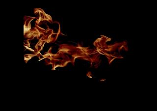 040106s - 36x54 Standard Realistic Flames 2