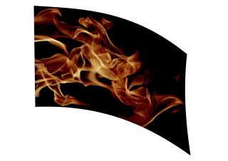 040107s - 36x54 Standard Realistic Flames 3