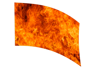 040109s - 36x54 Standard Fire Blaze