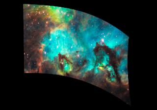 050201s - 36x54 Standard Seahorse Nebula