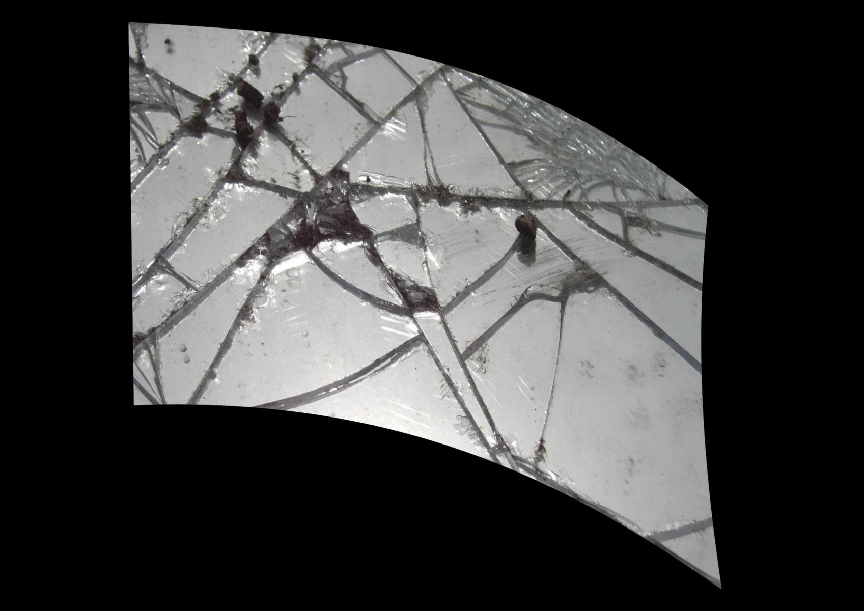 020202s - 36x54 Standard Broken Mirror 2