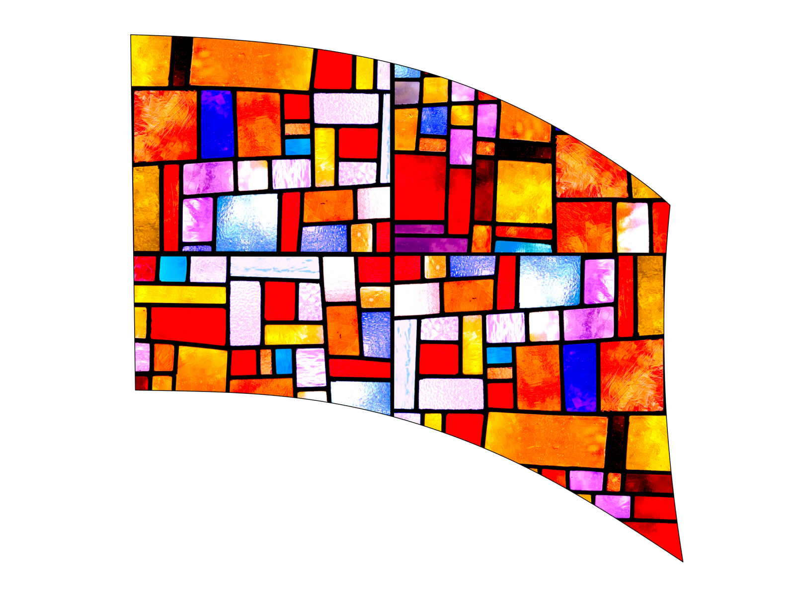 020204s - 36x54 Standard Stained Glass 2