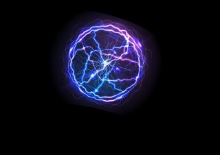 040401s - 36x54 Standard Plasma Lightning Ball