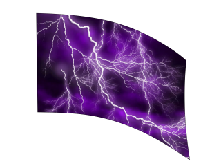 040404s - 36x54 Standard Purple Lightning