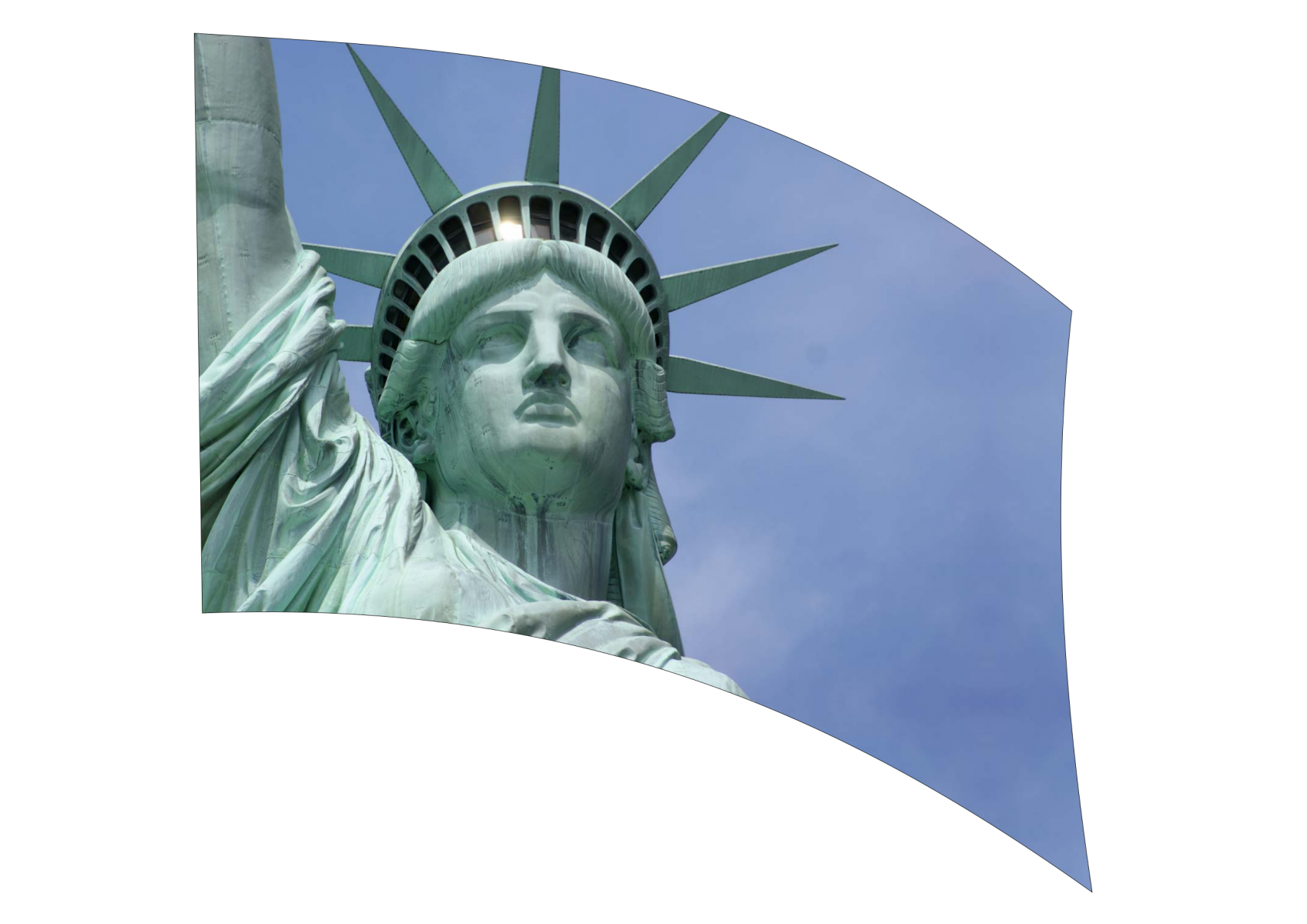 060303s - 36x54 Standard Statue of Liberty 1