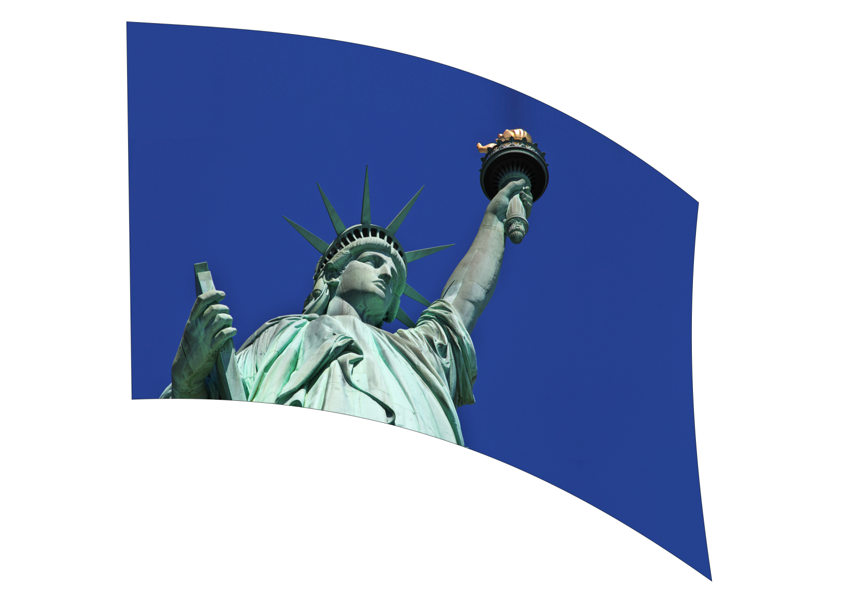 060304s - 36x54 Standard Statue of Liberty 2
