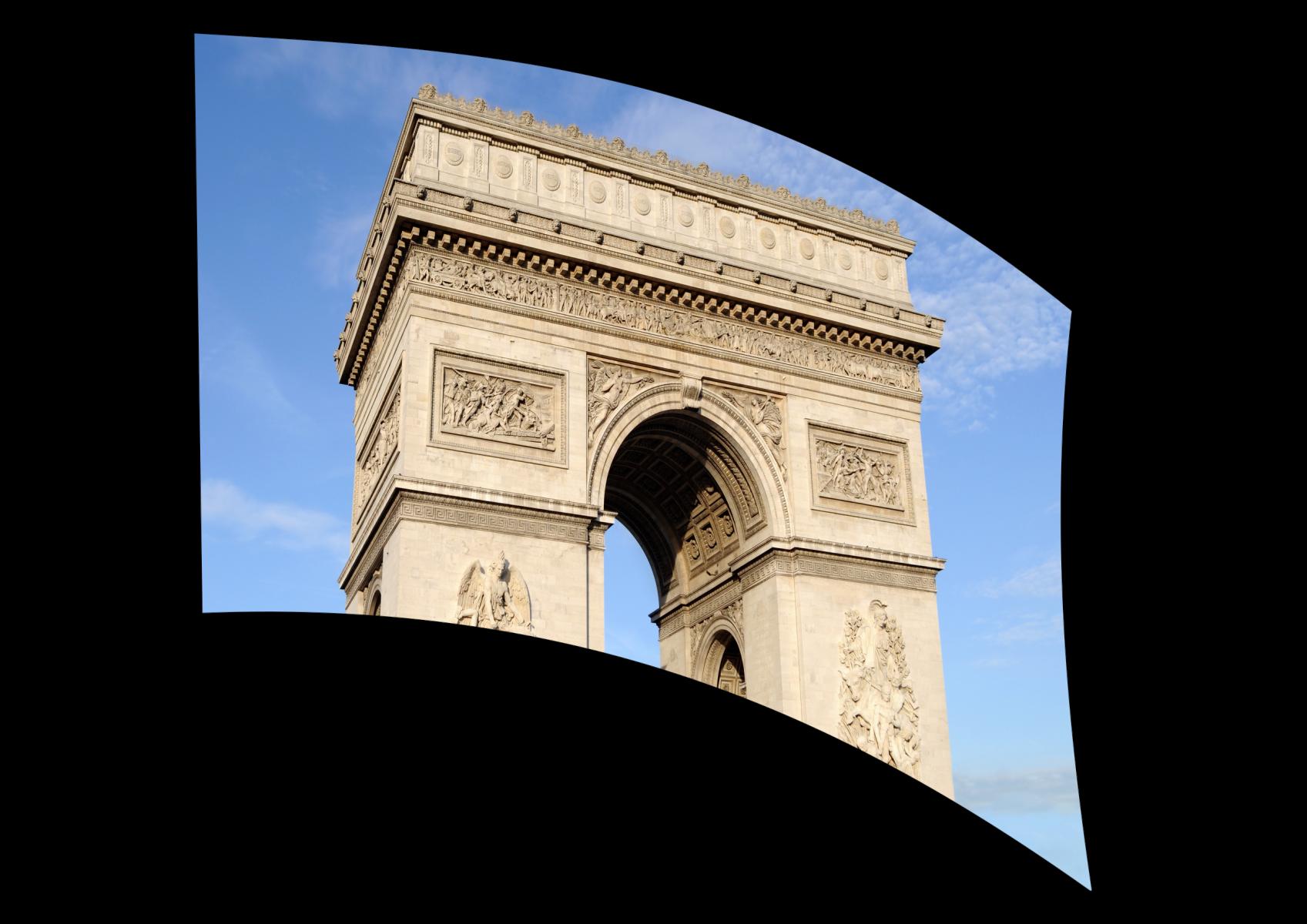 060305s - 36x54 Standard Arc de Triomphe