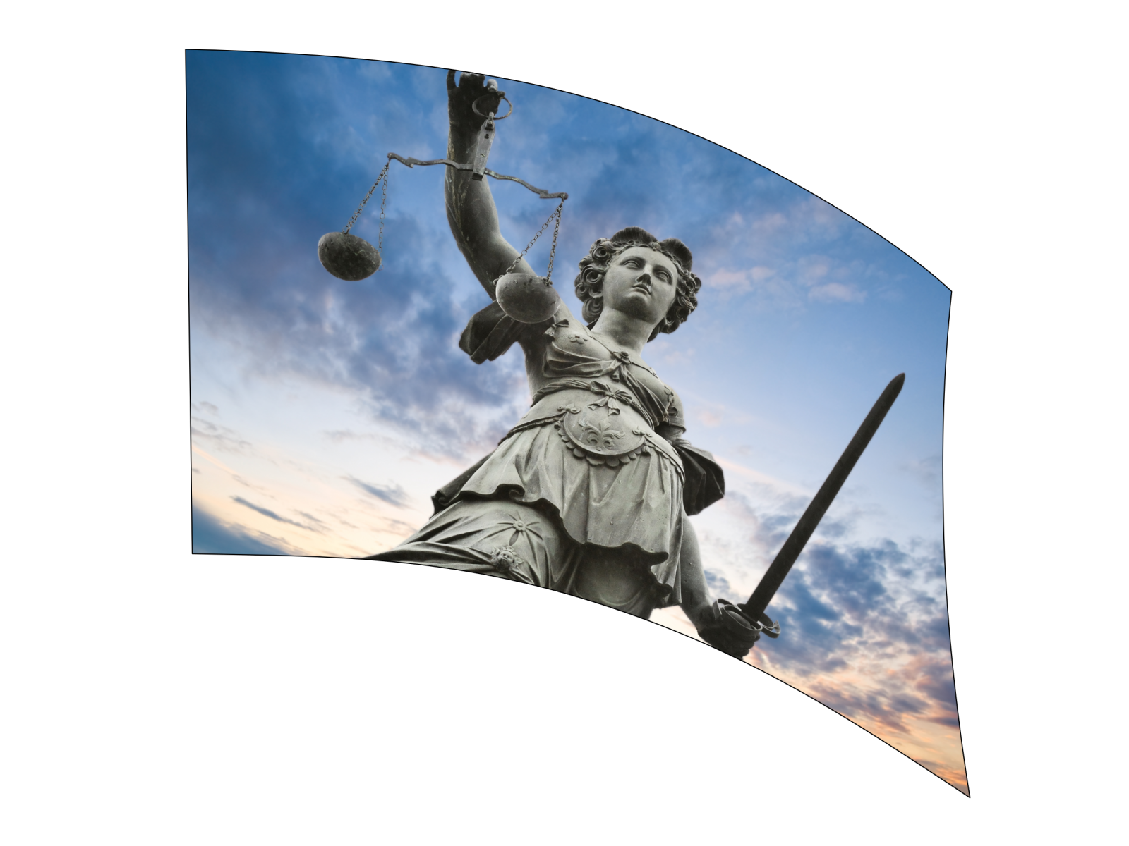060309s - 36x54 Standard Lady Justice