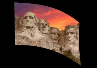060302s - 36x54 Standard Mt Rushmore 2