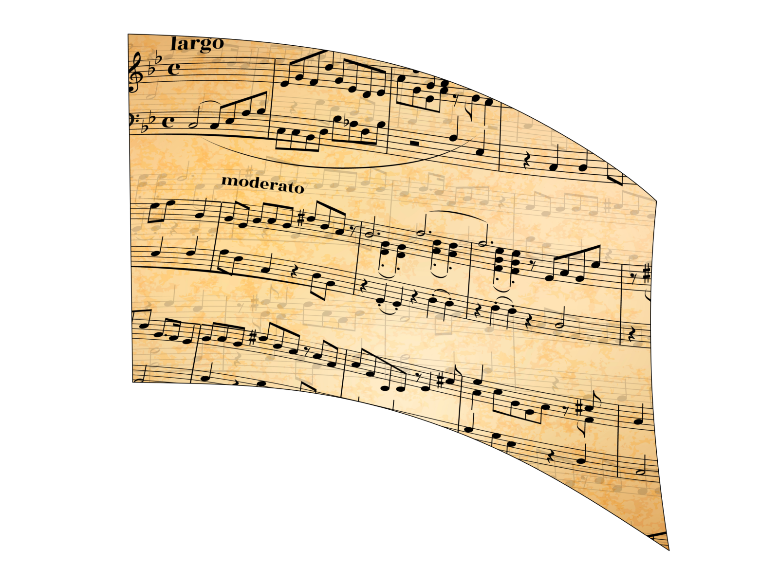 060416s - 36x52 Standard Sheet Music 2