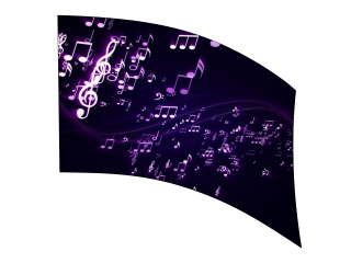 060405s - 36x52 Standard Music Notes 2