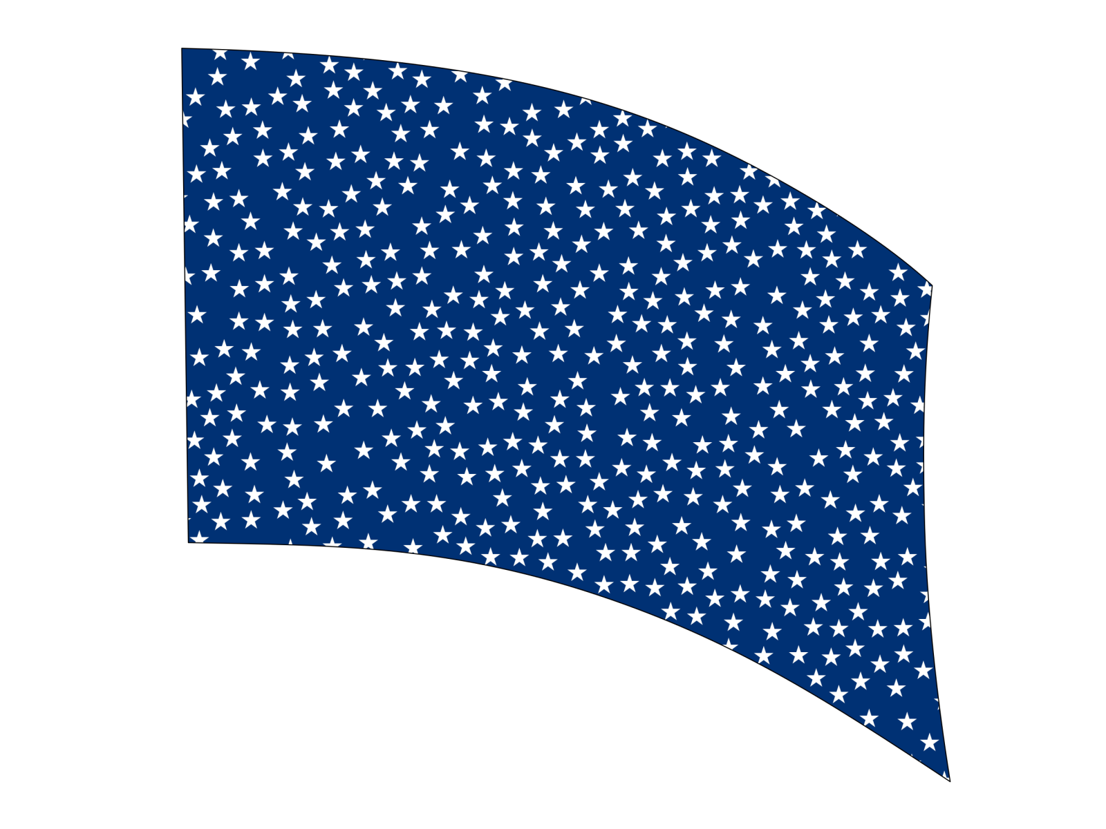 060212s - 36x52 Standard Small Stars on Blue