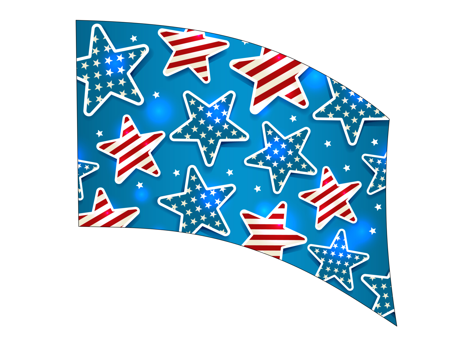 060214s - 36x52 Standard Stars and Stripes in Stars