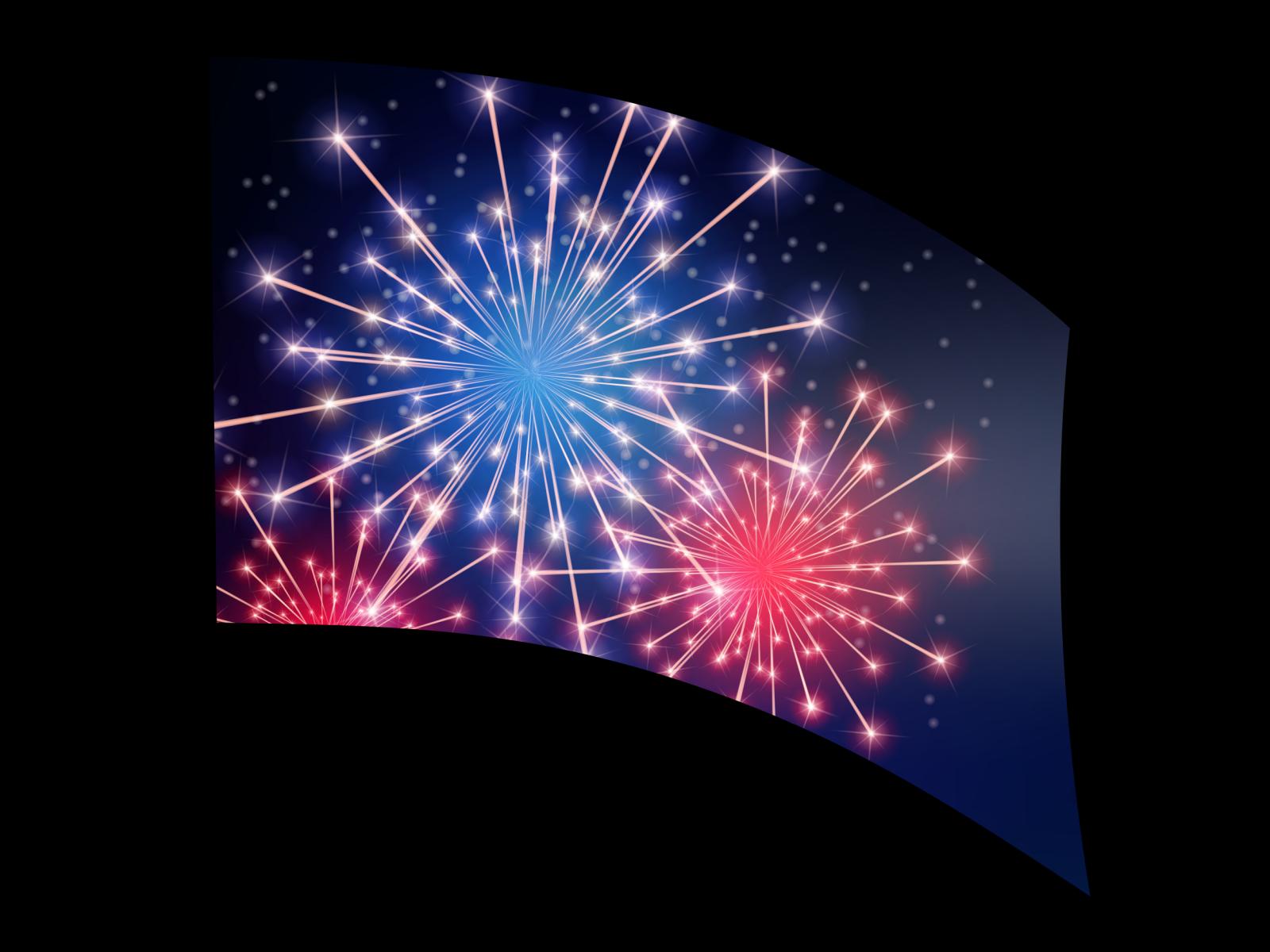 060216s - 36x52 Standard RWB Fireworks