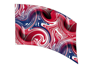 060206s - 36x52 Standard RWB Abstract Swirl