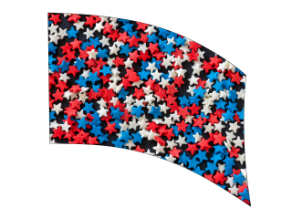 060215s - 36x52 Standard RWB Candy Stars
