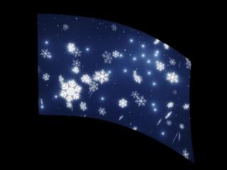 040201s - 36x52 Standard Falling Snow