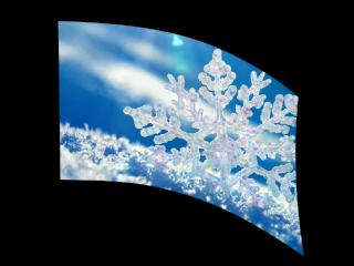 040203s - 36x52 Standard Snowflake 2