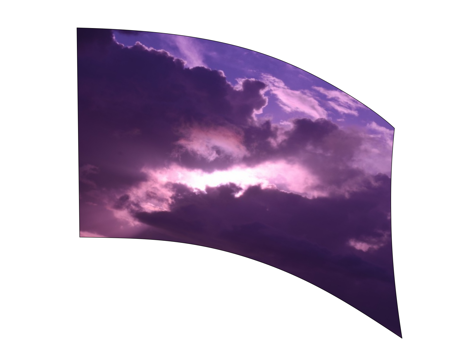 050310s - 36x52 Standard Purple Clouds 1