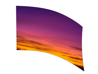 050312s - 36x52 Standard Purple Orange Sunset